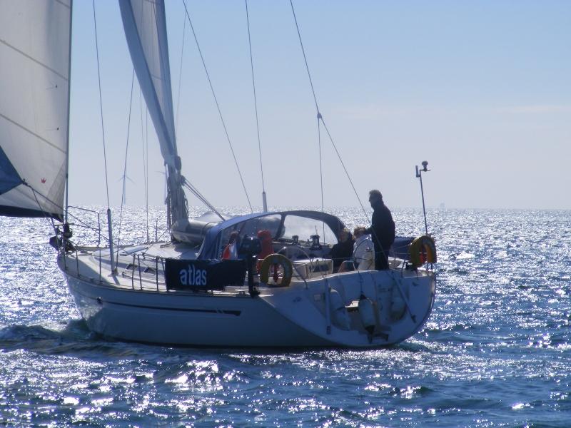Atlas at sea