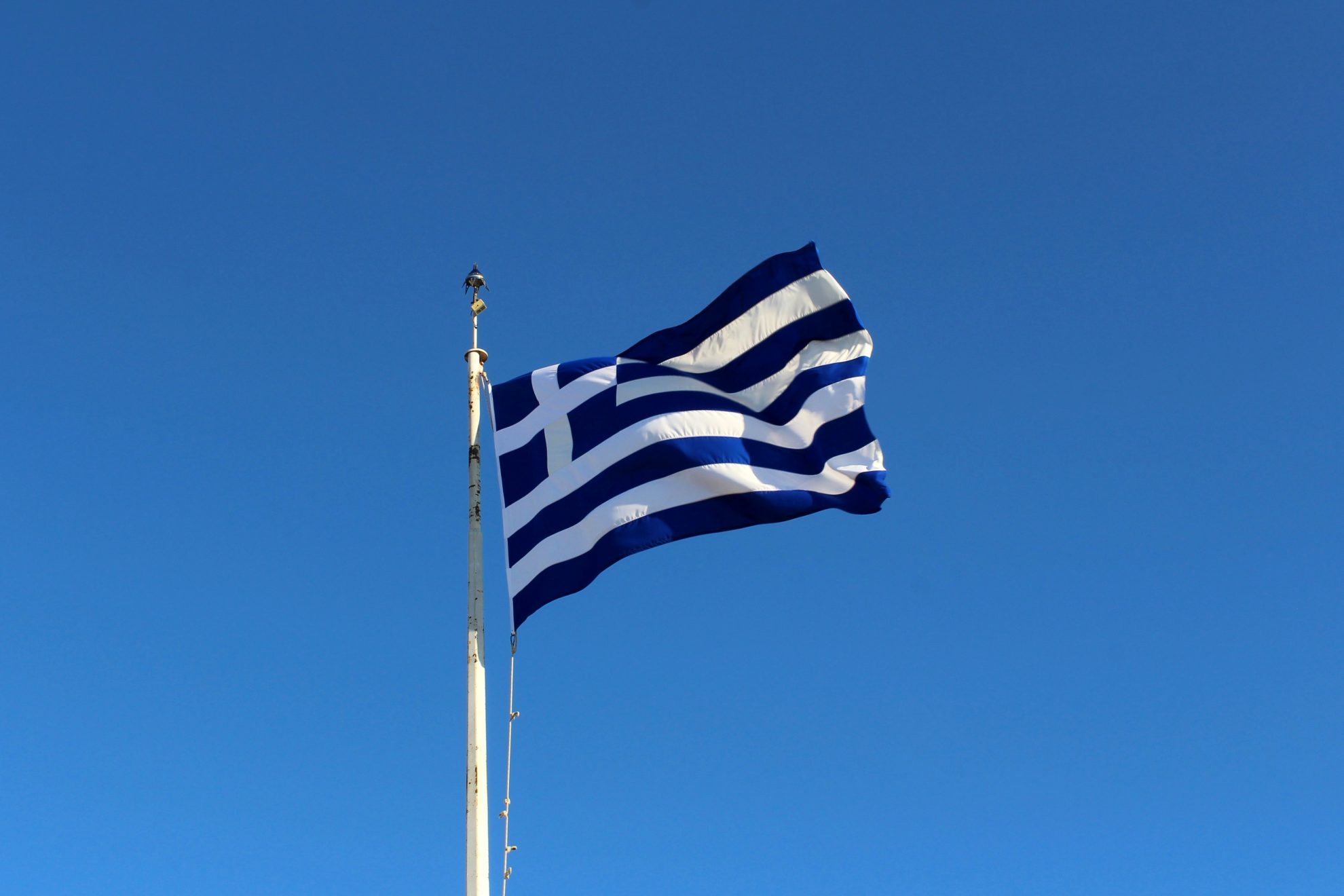 Greek Flag - Lavrio